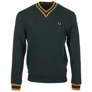 Fred Perry Tipped Loopback Sweatshirt