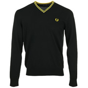 Fred Perry Classic V Neck Jumper