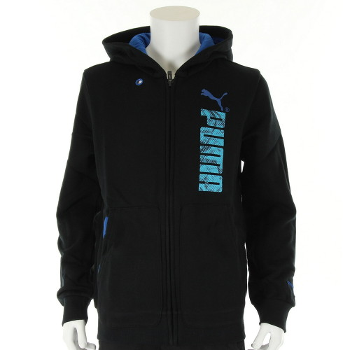 v tement veste sport puma gar on td graphic hooded sweat jacket taille noir ebay. Black Bedroom Furniture Sets. Home Design Ideas