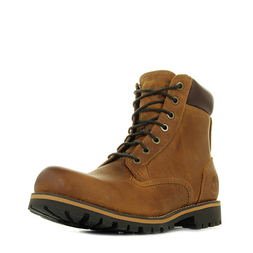 Timberland Rugged 6 in Plain Toe WP Copper Roughcut WP