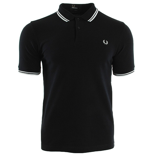 Fred Perry Twin Tipped Shirt - Bleu marine