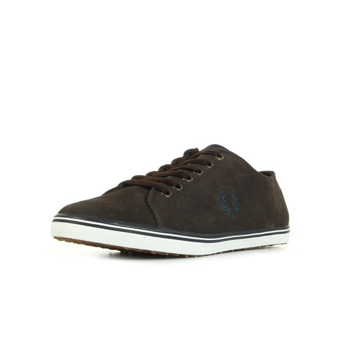 Fred Perry Kingston Suede Dark Chocolate