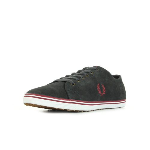 Fred Perry Kingston Suede Charcoal