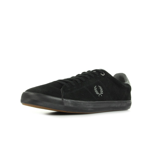 Fred Perry Howells Suede Black / Mid Grey