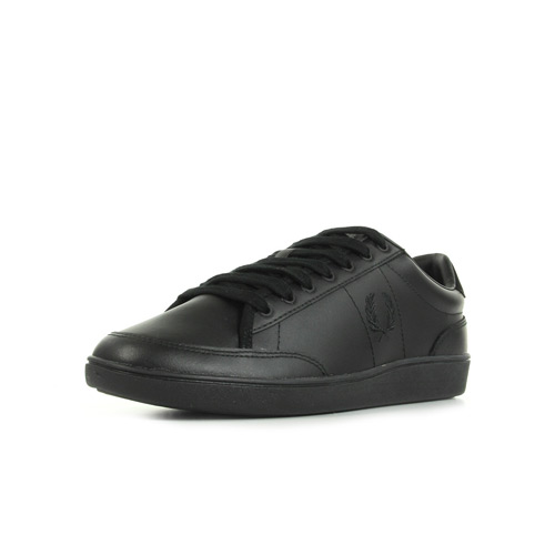 Fred Perry Hopman Leather Black