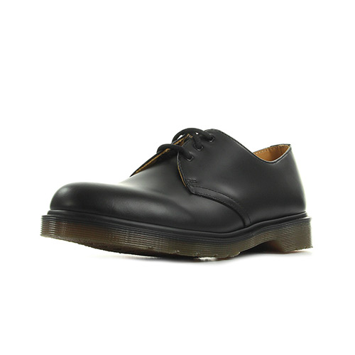 Dr. Martens 1461 Pw Black Smooth