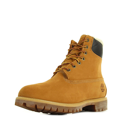 Timberland 6 In Fur Warm Wheat Nubuck Warm Lined