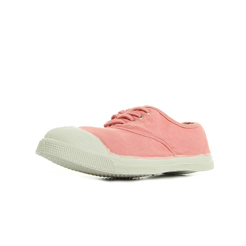 Bensimon Ten Lacet Rose Ballerine