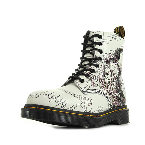 Dr. Martens Pascal Demented are go backhand