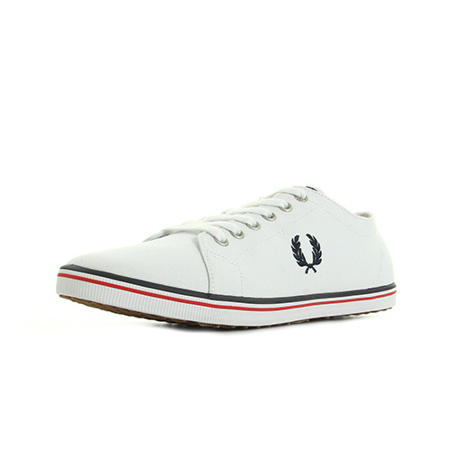 Fred Perry Kingston Twill White