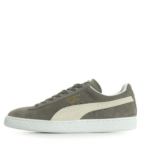 Puma Suede Classic + Steeple Gray White