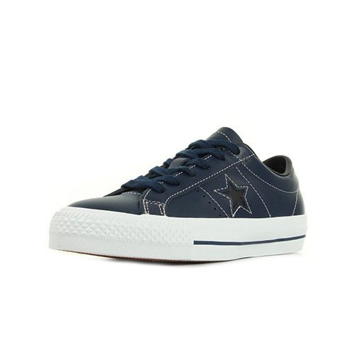 Converse One Star Skate Ox Navy Pink
