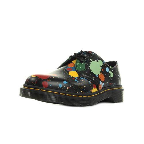 Dr. Martens 1461 Black Splatter Smooth