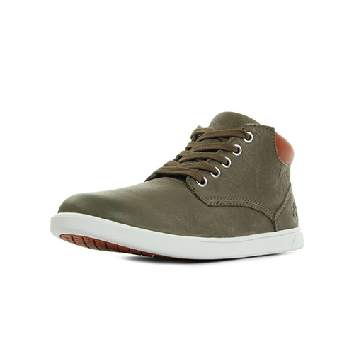 Timberland Groveton Leather Chukka Olive Full Grain
