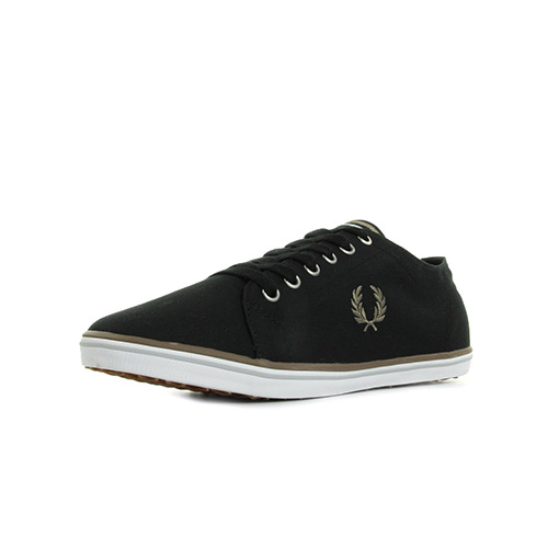 Fred Perry Kingston Twill Black Driftwood
