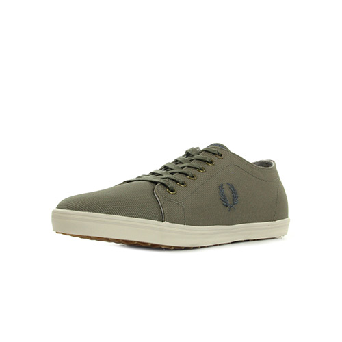 Fred Perry Kingston Coated Canvas Driftwood