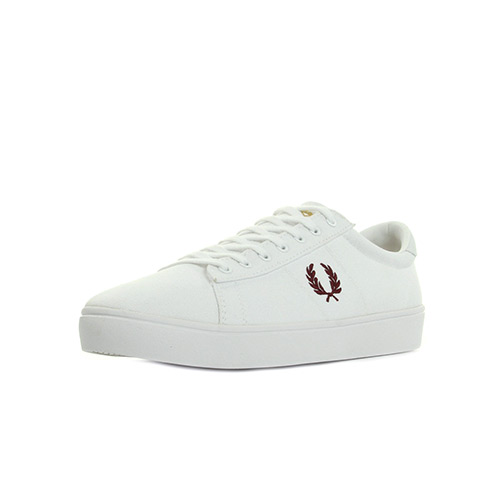 Fred Perry Spencer Canvas White Porto