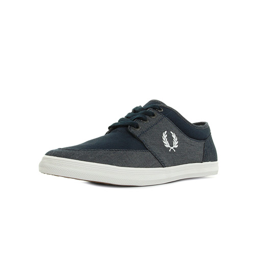 Fred Perry Stratford Chambray Canvas Navy