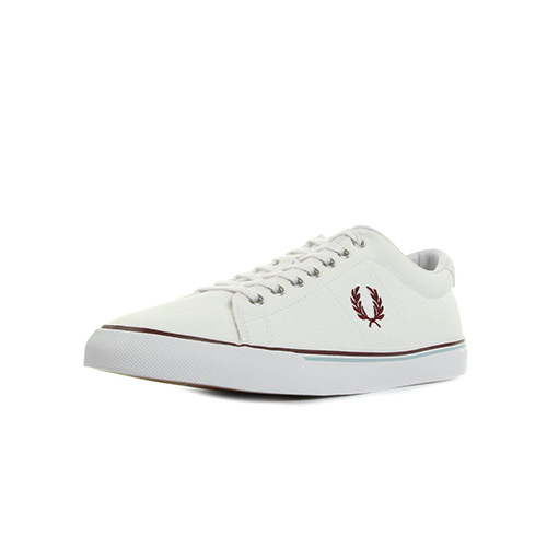 Fred Perry Underspin Canvas White Porto Sky Blue