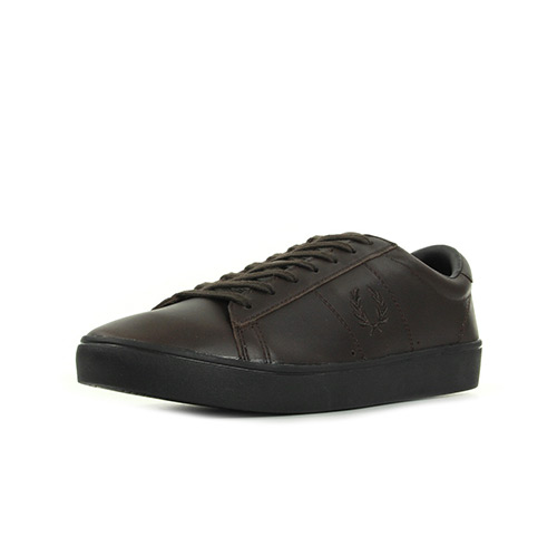 Fred Perry Spencer Leather Dark Choco