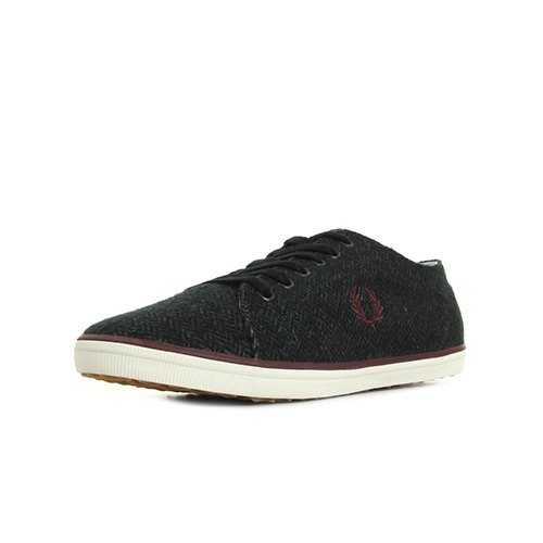 Fred Perry Kingston Tweed Charcoal