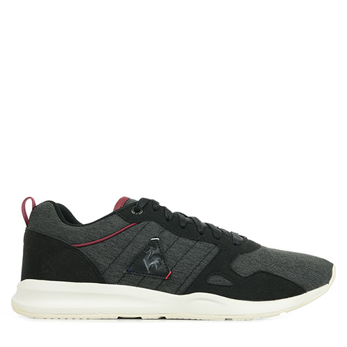 Le Coq Sportif Lcs R600 Craft 2 Tones Black Ruby Wine