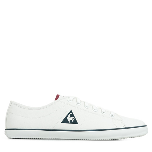 Le Coq Sportif Slimset Canvas Optical White Ruby Wine
