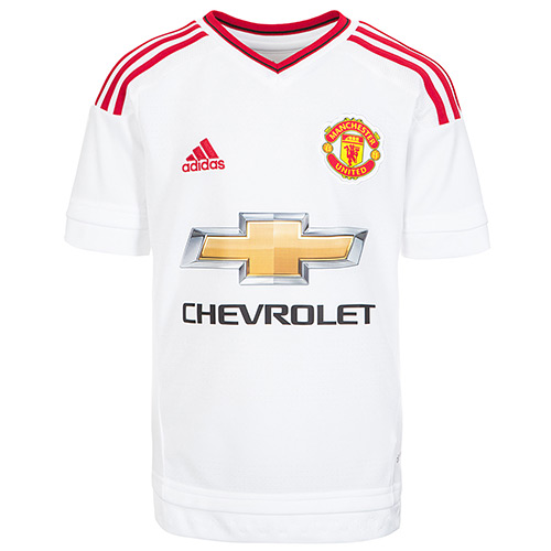 adidas Performance Manchester White Away Jersey