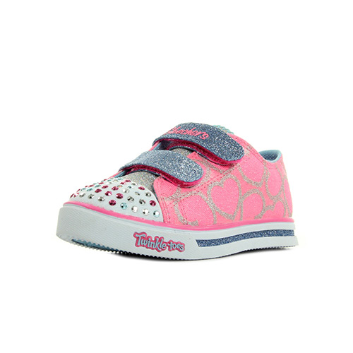 Skechers Twinkle S Lights Heartsy Glam