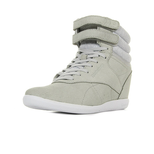 Reebok Sport F/S Hi Int Wedge Night gris - Chaussures Basket montante Femme