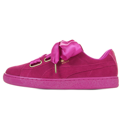 Suede Heart Satin Wn's