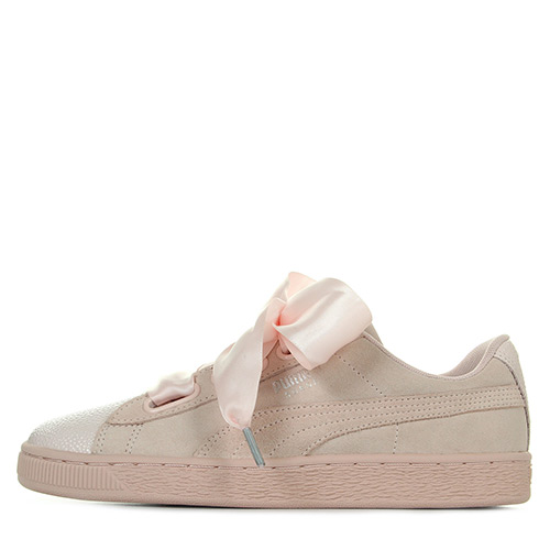 Suede Heart Bubble W's