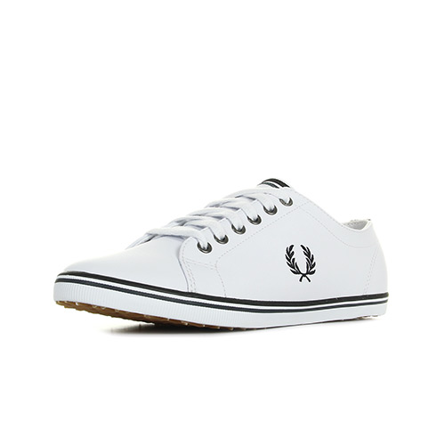 Fred Perry Kingston Leather White
