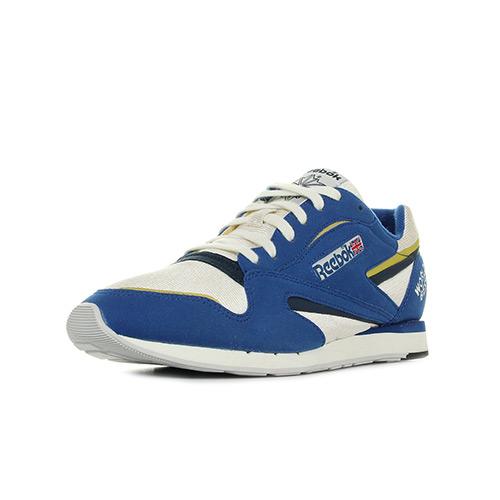 Reebok Sport World Best bleu - Chaussures Baskets basses Homme