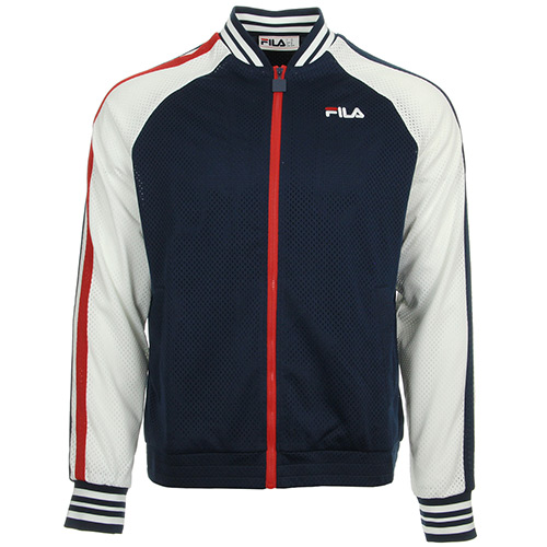 Fila Lucas Track Jacket Peac/Wht/Cred