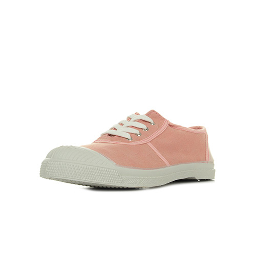 Bensimon Tennis Oldschool Lacets Rose