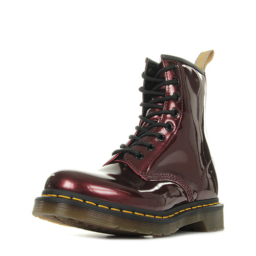 Dr. Martens 1460 W Vegan Chrome Oxblood