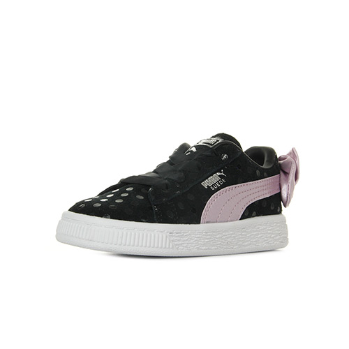Puma Suede Bow Dots Inf