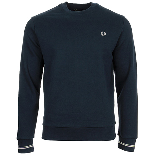 Fred Perry Taped Crew Neck Sweatshirt