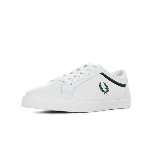 Fred Perry Baseline Tipped Collar Mesh