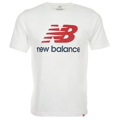 New Balance Essentials Stacked Logo Tee