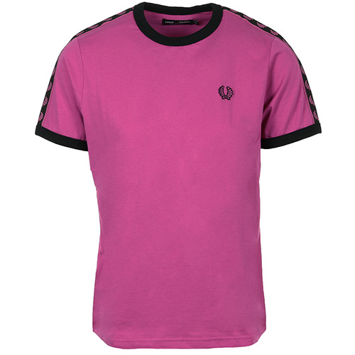 Fred Perry Wn's Taped Ringer T-shirt