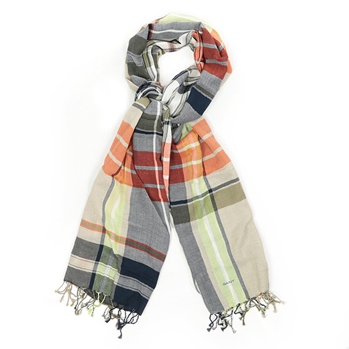 GANT Big Check Scarf