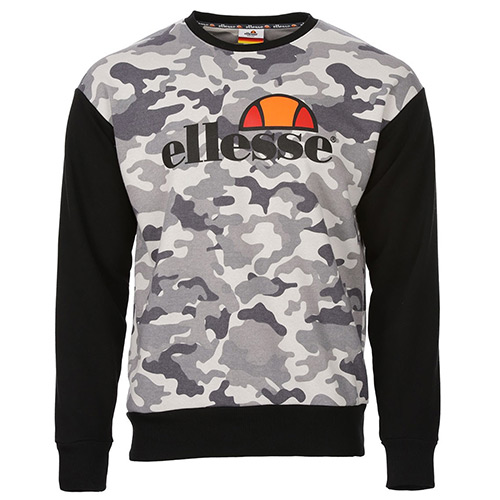 Ellesse Eh H Sweat Col Rond Camo