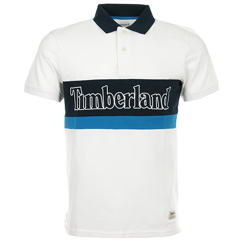 Timberland Polo SS Millers River Colour Block