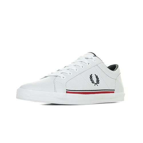 Fred Perry Baseline Perf Leather