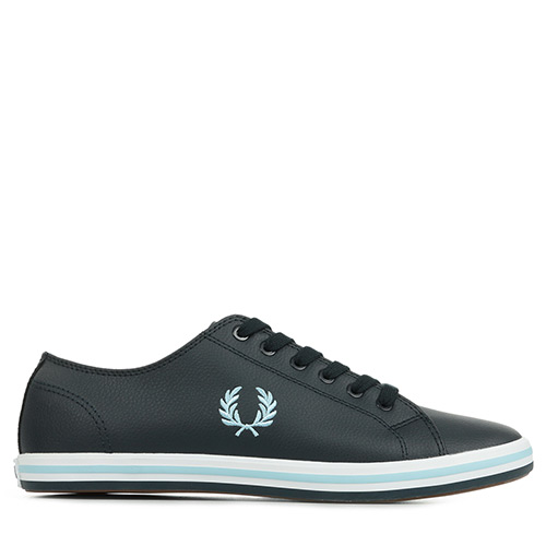 Fred Perry Kingston Leather - Bleu marine