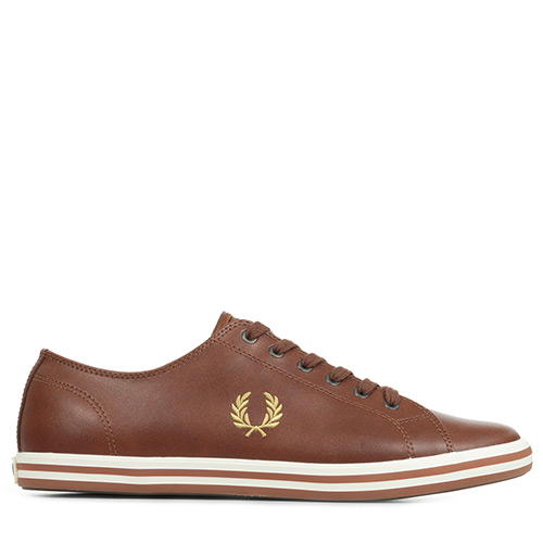 Fred Perry Kingston Leather - Marron
