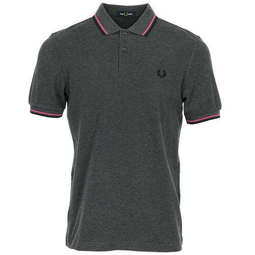 Fred Perry Twin Tipped Shirt - Gris