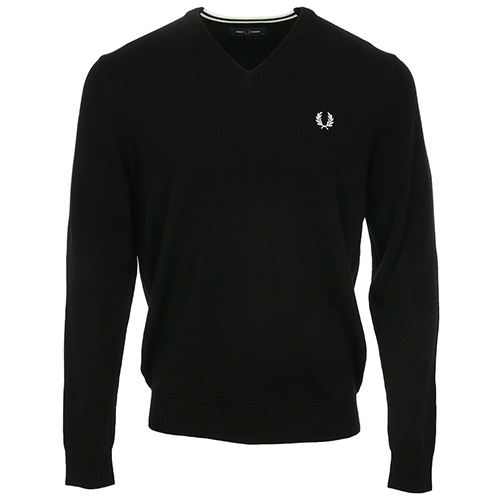 Fred Perry Classic Merino V Neck Jumper